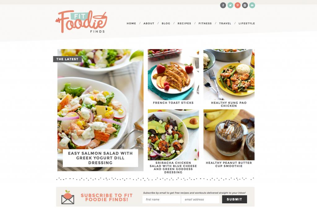 custom-wordpress-design-fit-foodie-finds-melissa-rose-design