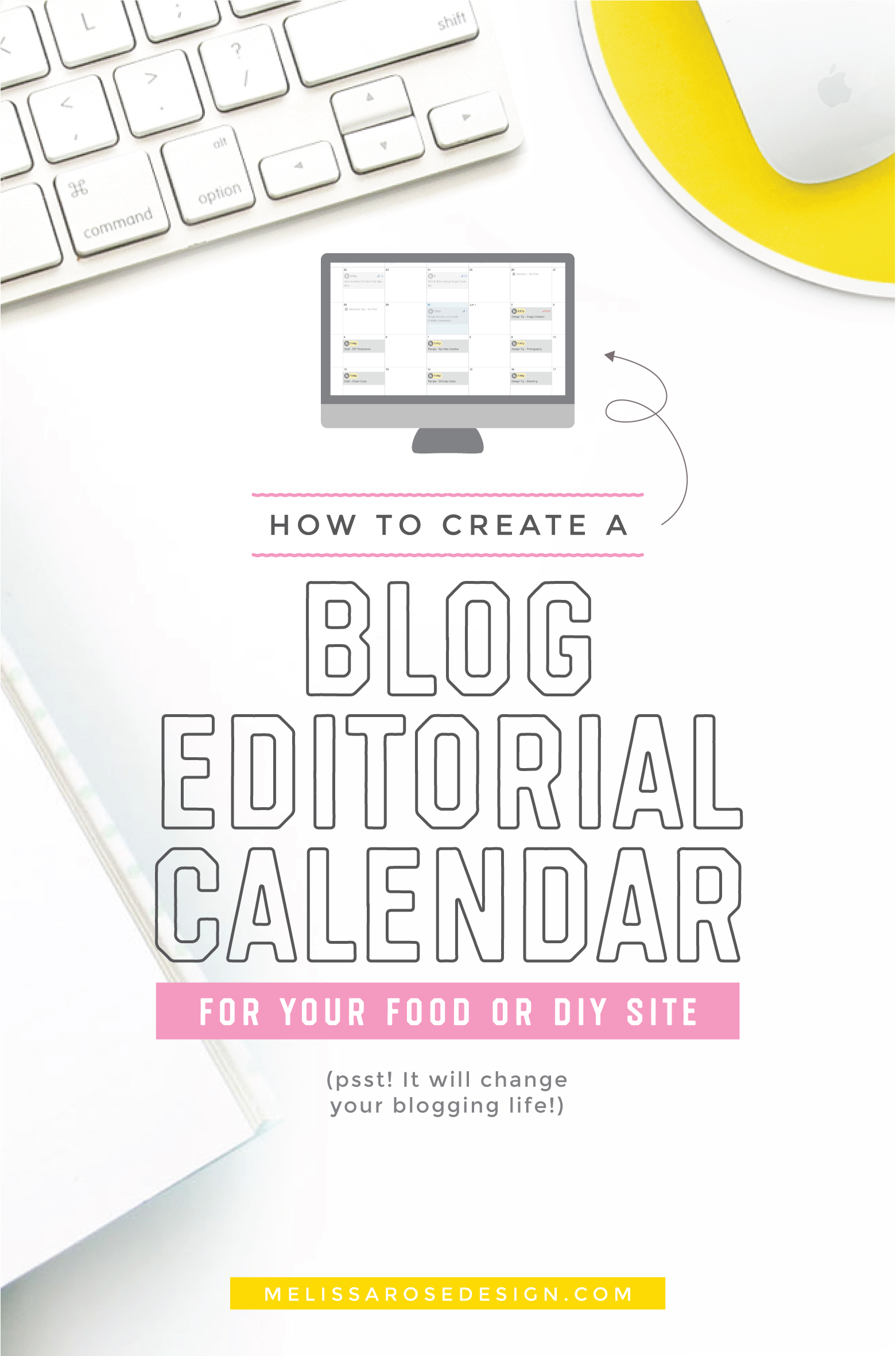 Stop scrambling on last-minute blog posts and start scheduling them out ahead of time with a structured content calendar. In this post blogger and branding coach, Melissa Rose, talks about how she runs multiple blogs with this the online marketing program/tool, CoSchedule.