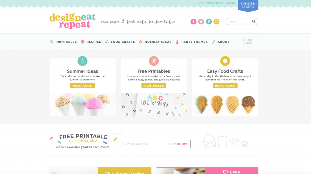design-eat-repeat-food-craft-blog-design-branding